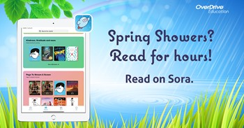 Student Online Reading App (SORA) Spring Art